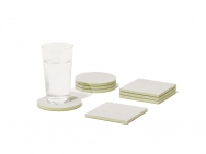 Diatomaceous Earth COASTER large Set of 4 (Circle or Square)