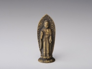 Amida Tathagata 'Nyorai' Statue 3 inch - Made in Japan