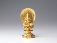 Dainichi Tathagata 'Nyorai' Statue 6 inch - Made in Japan