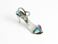 Two Lotuses - fingernail preserving stiletto ring-tab opener