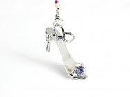 Sapphire with SWAROVSKI Crystals- stiletto ring-tab opener