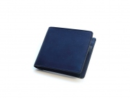 JAPAN BLUE Leather Half Fold Wallet
