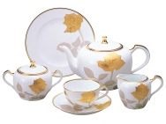 Etched Rose - 23P Tea Set