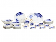 """Blue Rose"" (43p Dinner Set)"