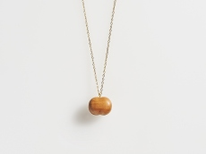 Apple Wood Necklace - GRAIN S