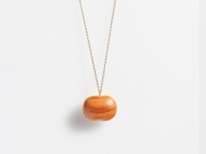 Apple Wood Necklace - GRAIN L
