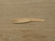 Bamboo Cutlery 'fork' Pack of 250