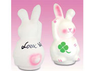 'Love it' (rabbit) Takasaki Daruma