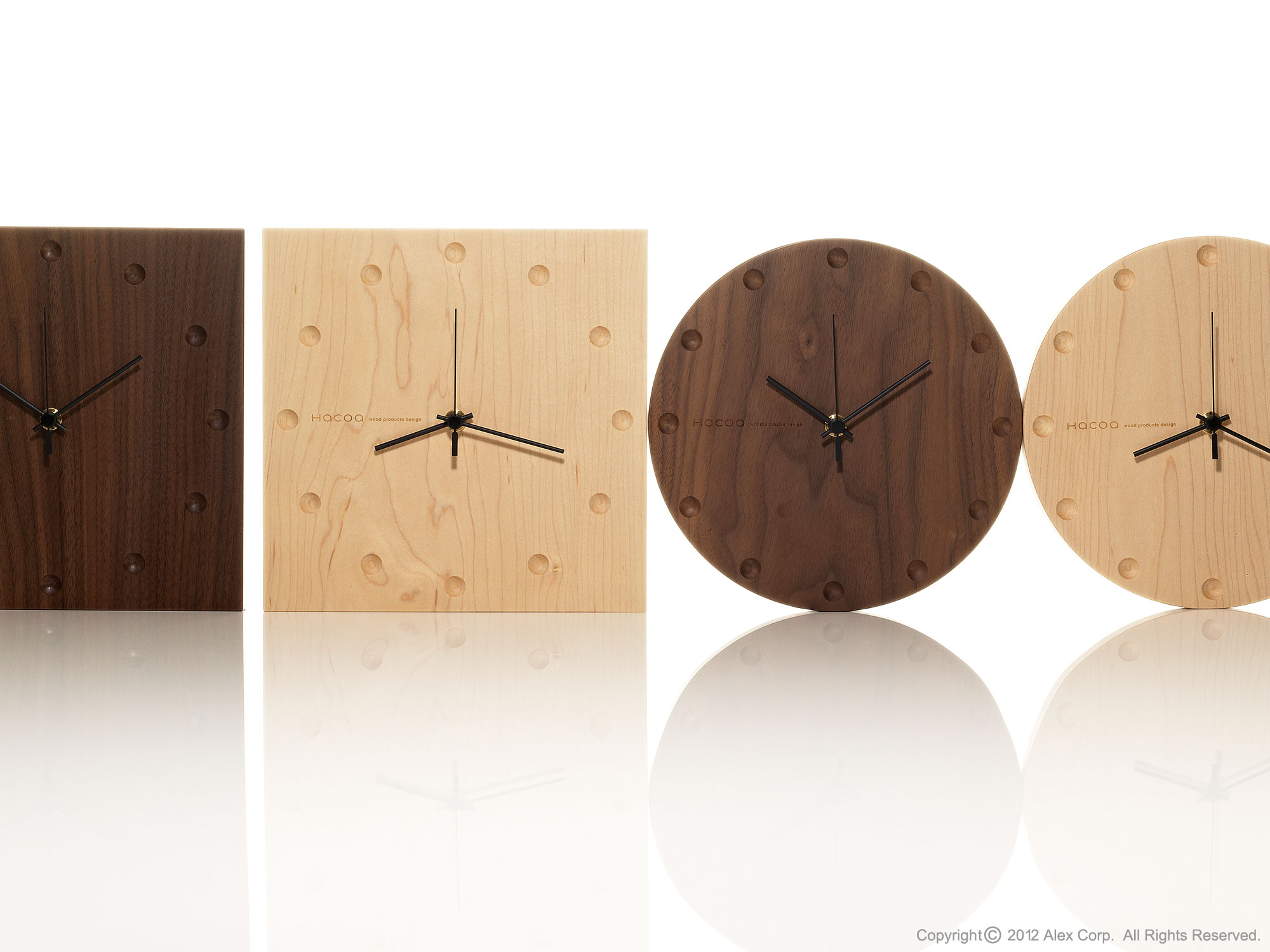 Hacoa wall clock table clock products alexcious