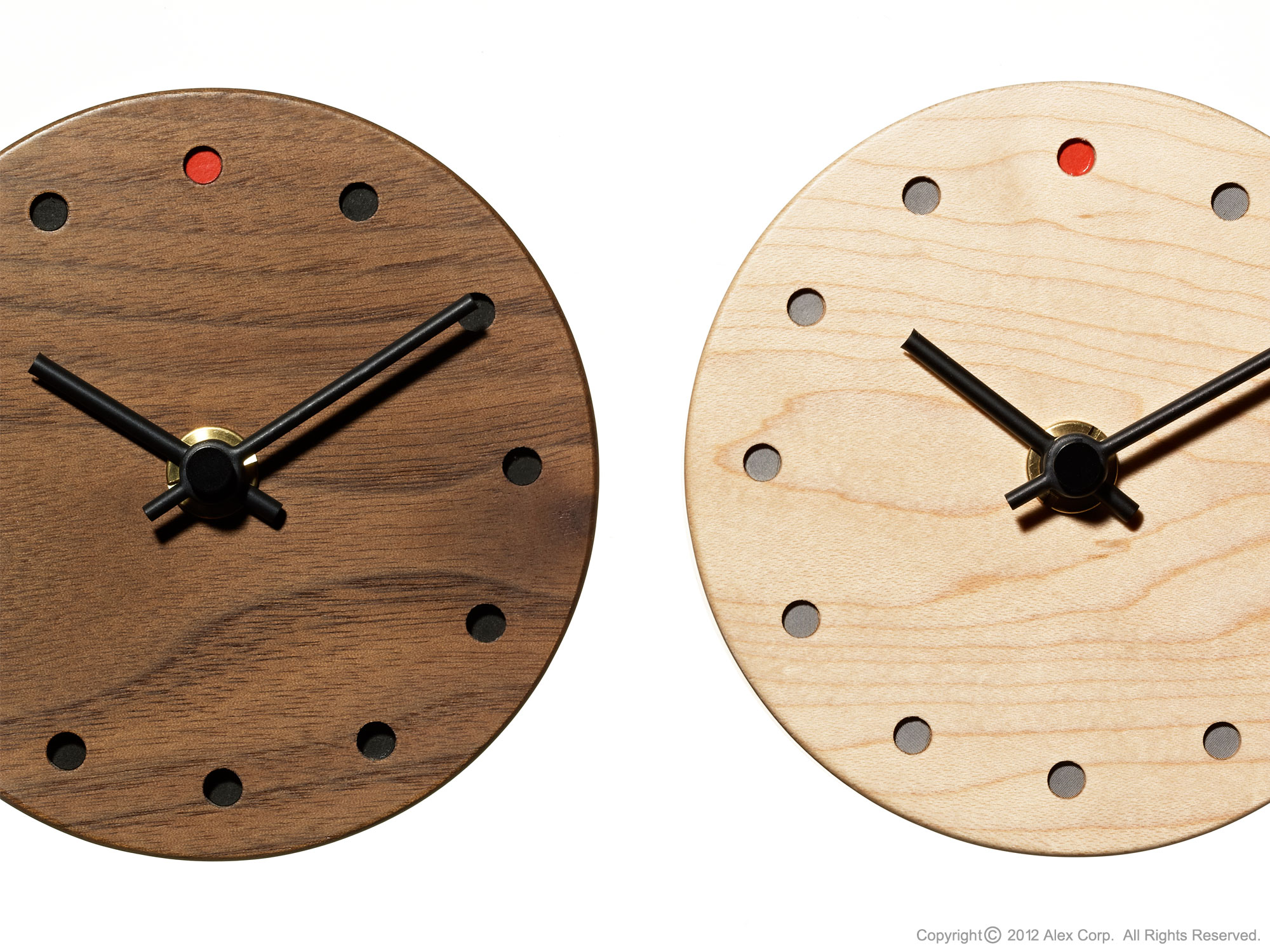Hacoa miniature wooden clock products alexcious amipublicfo Choice Image
