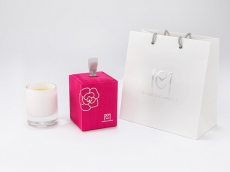 [Rose & Rose] 100% Natural Beeswax Aroma Candle 6.3 oz