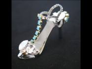Turquoise Breeze - stiletto ring-tab opener