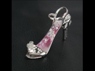 Pink Lily - fingernail preserving stiletto ring-tab opener