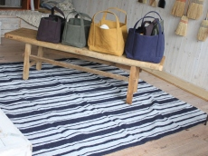 L Size / Multi-use Stripe Mat - rug