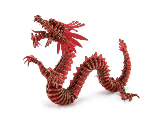 Image of: Stuffed Alexcious Flats Laser Cut Cardboard Animals Dragon 133 Products Alexcious