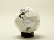Geodesic Globe with 80 Facets [PLATINUM]