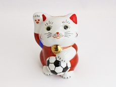 [Korea Republic] Football Maneki Neko Lucky Cat