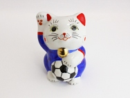 [Japan] Football Maneki Neko Lucky Cat for 2014