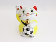 [Colombia] Football Maneki Neko Lucky Cat