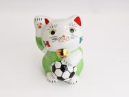 [Mexico] Football Maneki Neko Lucky Cat for 2014