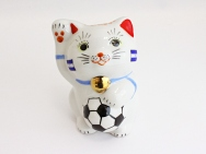 [Honduras] Football Maneki Neko Lucky Cat for 2014
