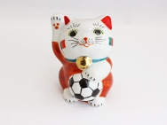 [Portugal] Football Maneki Neko Lucky Cat