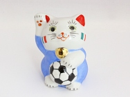 [Italy] Football Maneki Neko Lucky Cat