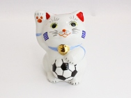 [Greece] Football Maneki Neko Lucky Cat