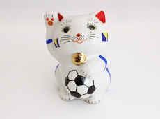 [Bosnia and Herzegovina] Football Maneki Neko Lucky Cat