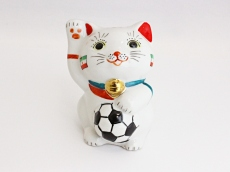 [Iran] Football Maneki Neko Lucky Cat