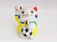 [Australia] Football Maneki Neko Lucky Cat