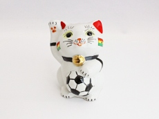 [Ghana] Football Maneki Neko Lucky Cat