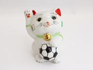 [Algeria] Football Maneki Neko Lucky Cat for 2014