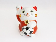 [Spain] Football Maneki Neko Lucky Cat
