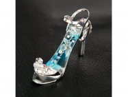 Blue Lily - fingernail preserving stiletto ring-tab opener