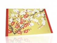 Greeting Card Set (Red & White Plum Blossoms)