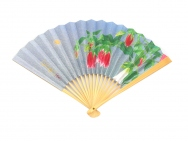 Japanese Folding Fans (Bellflowers)