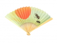 Japanese Folding Fan (Sun & Beetles)