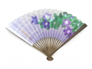 Japanese Folding Fans (Chinese Bellflowers)