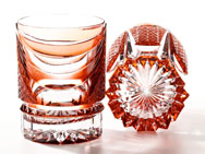 Ice-Cocktail Glasses - KIKU WAVE (Set of 6)