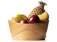 Conical Fruit Bowl