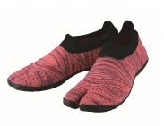 hitoe Zebra Pink - tabi shoes footwear