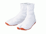 Air Jog V(five) 6 hook White - tabi shoes footwear