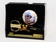 SAMURAI SWORD SCISSORS with Miniature Japanese-style room