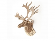 32pcs D-Torso Laser Cut Cardboard Animals - Deer Head mini