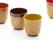 Charming Espresso Cup - zelkova & lacquer