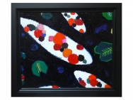 Oil picture /Koi(Taro Otani painting / graphics)
