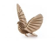 40pcs D-Torso Laser Cut Cardboard Animals  - Pigeon 110