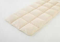 Semi-Double - Smart Mattress-Pad (Camel Hair) Heavy Type