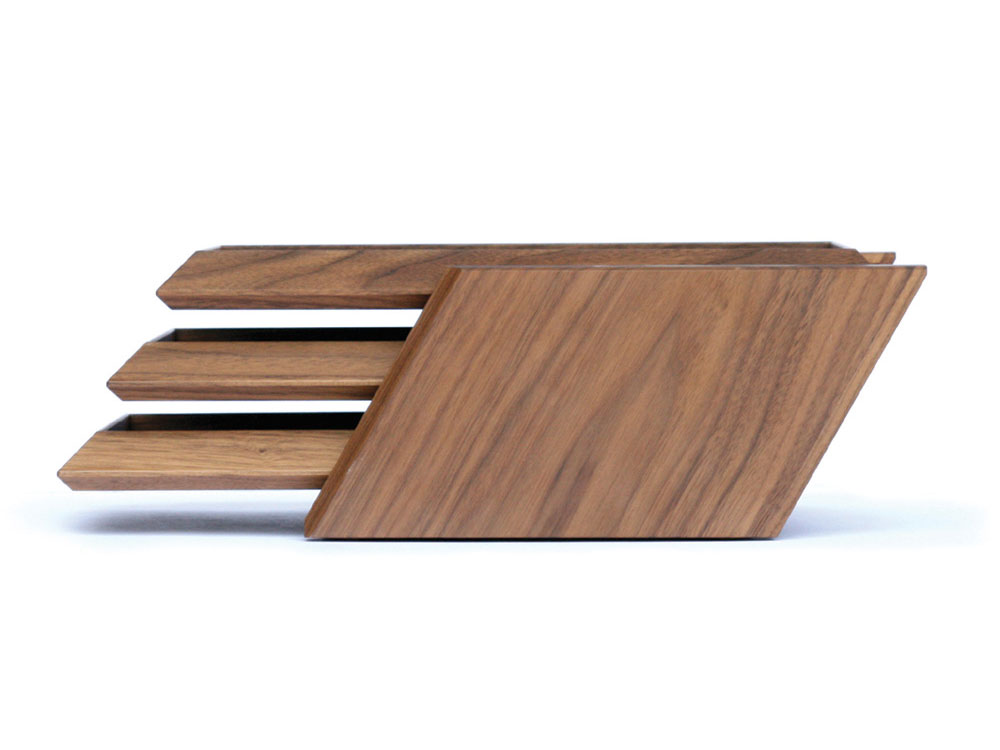 Wooden 3 Tiered A4 Letter Tray S Alexcious